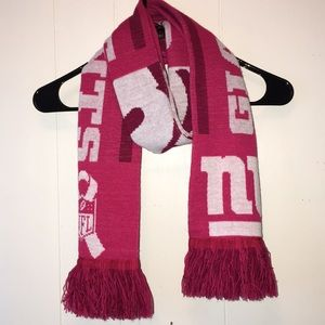 NFL NY GIANTS PINK SCARF